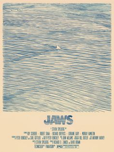 Poster for JAWS (Steven Spielberg, USA, 1975)