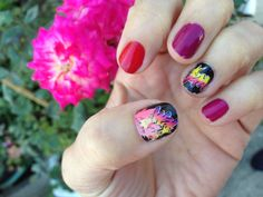 Jem and the Holograms TRULY OUTRAGEOUS nail decals by chachacovers, $5.00