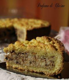 Ricotta cake macaroons and chocolate - Torta di ricotta amaretti e cioccolato