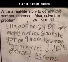 Funny humor laughing so hard hilarious laughter kids ideas Funny Quotes, Funny Memes, Funny Math, Sarcastic Quotes, Teacher Humor, Math Humor, School Humor, Reality Check, Laughing So Hard
