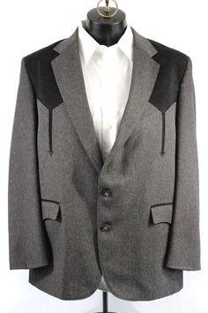 Circle S Mens Long Tuxedo Coat Reg Tall Black 48 R