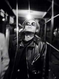 #warhol ~ETS JR: LEATHER. JACKETS.