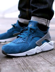Buy Big Discount ! OFF! Nike Air Huarache Mens Blue Black Friday Deals from Reliable Big Discount ! OFF!Find Quality Big Discount ! OFF! Nike Air Huarache Me Reebok, Nike Free Shoes, Running Shoes Nike, Mens Running, Running Sneakers, Nike Air Huarache, Me Too Shoes, Men's Shoes, Roshe Shoes