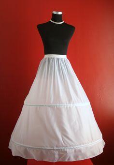 Children's 2 hoop petticoat, just little smaller than the adult version ..Children 2 Hoop Crinoline Petticoat Underskirt - Selena Chen Bridal Gowns UK