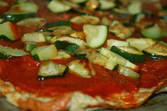 Pizza uten deig, ikke noe mel elller melerstatning, 100 % glutenfri ;-) Godt og Sunt: Paléo Pizza : La Meatzza