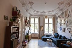 Frank Höhne — Illustrator, Apartment, Berlin-Kreuzberg.