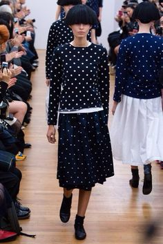 Polka dots by comme des garcons comme des garcons 2015 Spring ready to wear