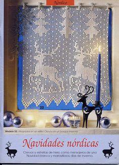 crochet - Natal - Christmas - Punto de red Nº 41 - 2001 - Raissa Tavares - Веб-альбомы Picasa