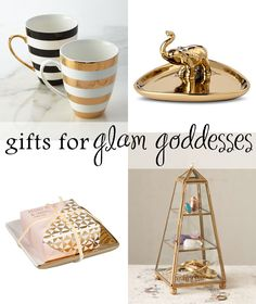10perfect gift ideas for your most glamorous friend—or a girl who loves a good dose of sparkle!