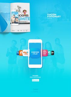 Viacom VOD Channels Identity on Behance