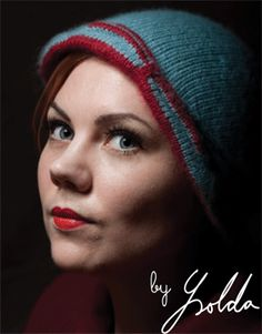 Lee Reversible Hat, Free #Knitting Pattern from Knitting Daily