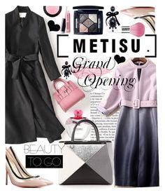 """METISU Store Grand Opening"" by anin-kutak ❤ liked on Polyvore featuring Moschino, By Terry, Dsquared2, Fendi, Christian Dior, Avon, Guerlain, MAC Cosmetics and metisu"
