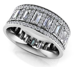 Luxurious Diamond Eternity Ring Style No.: EB1047