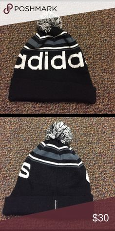 Adidas Knit Beanie In perfect condition, only worn a couple times. Make an offer! Adidas Accessories Hats