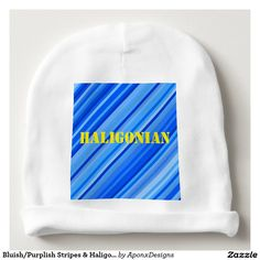 Cover your head with a customizable Stripe hat from Zazzle! Shop from baseball caps to trucker hats to add an extra touch to your look! Drawstring Backpack, Personalized Gifts, Beanie, Stripes, Baby, Design, Fashion, Moda, Customized Gifts