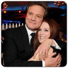 Colin Firth & Julianne Moore