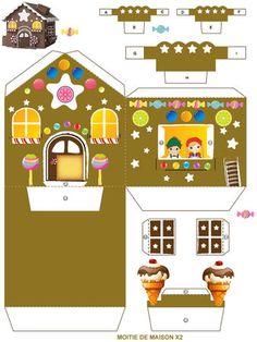 Little house of Haensel and Gretel (Grimm Fairy Tale) Part 1