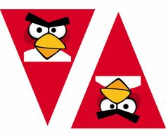 Video on how to personalize your free angry birds banner.