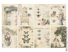 """192 """"романтика"""" рисовая бумага для декупажа - рисовая бумага,рисовая бумага с рисунком"""