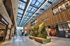 Fornebu S shopping mall, situated outside Oslo, is the first shopping mall to receive BREEAM Outstanding certification.