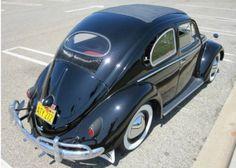 1957 Volkswagen Beetle oval window ragtop