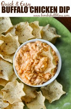 Quick & Easy Buffalo Chicken Dip | Touchdown Dips for Super Bowl Sunday