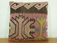 turkish pillow - kilim pillow - turkish cushion, $58.00