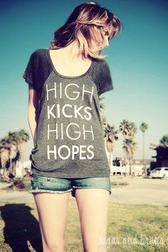 high kicks and high hopes | keltie colleen | rockette dreams