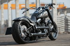 #Thunderbike customized #Harley-Davidson Fat Boy for Custom Chrome Europe