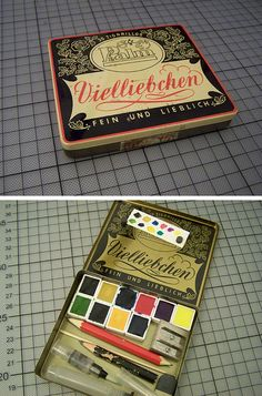 Watercolor Box by paperboatcaptain, via Flickr