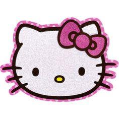 Glitter Hello Kitty Invitations - Party City