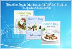 Everyday Fresh Simple and Light Food Recipes for family Collection Set By Donna Hay. #foodrecipe #bookcollection #donnahay #diet #books #dealsandoffers