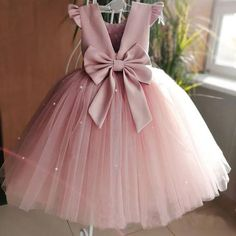 Buy Lovely Pretty Pink Round Neck Tulle Flower Girl Dresses, Cheap Wedding Little Girl in uk. Find the perfect flower girl dresses at PromDress. Our flower girl dresses come in a variety of styles & colors including lace, tulle, purple & gold Dresses Kids Girl, Kids Outfits, Princess Dresses For Toddlers, Girls Occasion Dresses, Baby Princess Dress, Baby Girl Birthday Dress, Girls Dresses Sewing, Cute Little Girl Dresses, Sewing Clothes