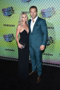 Jai Courtney Photos: Suicide Squad Premiere In New York for Carrera - Celebrity Fashion Trends