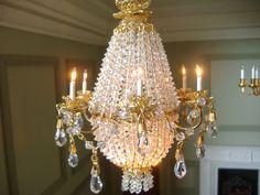 Rosemarie Tombers, Rosel's Chandeliers - 6 arm grand chandelier