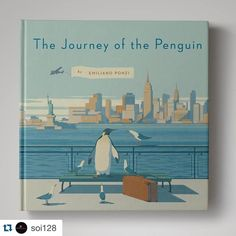 "#Repost @soi128 with @repostapp.  Illustrator @emilianoponzi talks about his latest book ""The Journey of the Penguin"" at SI on Nov. 18th. @penguinclassics @penguinbooks @penguinusa by emilianoponzi"