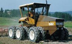 Six Wheel-Drive, Prototype. Old Tractors, John Deere Tractors, New Tractor, Agriculture Farming, Rubber Tires, Dieselpunk, Heavy Equipment, Fiat, Volvo