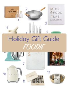 The 2016 Holiday Gift Guide for the Foodie is on the blog. From Smeg Electric Kettles, Jacobsen Salt Library, The Food Lab book and a few other amazing choices! See all 12 gifts and starting checking people off your holiday list!