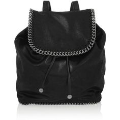 Stella McCartney Falabella faux brushed-leather backpack $1205