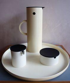 Stelton Coffee Set by Erik Magnussen, 1970s