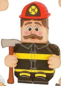 Fireman paver