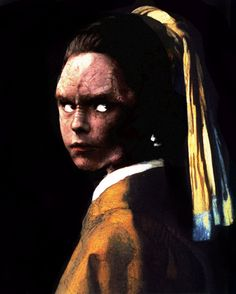 "Old manipulation of Tora Ziyal and ""The Girl with The Pearl Earring""."