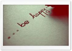 Be Happy Wallpaper