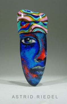 Astrid Riedel Glass Artist: African Beauty♥♥