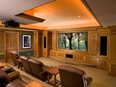 Media Rooms and Home Theaters by Budget | Home Remodeling - Ideas for Basements, Home Theaters & More | HGTV