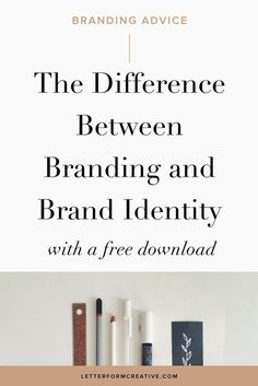 Hey, small Business owner, do you know the difference between your branding and your brand identity? Whether you are doing your branding yourself or you've hired a professional designer to design it, it's important to the success of your business that you understand the difference.