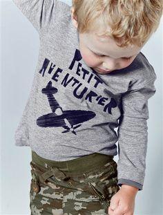 Un #pantalón con un #tallaje adaptado gracias a los 3 anchos de #cadera, ¡el pantalón se adapta al niño y no al revés! Precio desde 17,59€