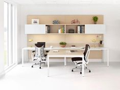 Top Modern Office Design Trends – My Life Spot Diy Office Desk, Diy Computer Desk, Modern Office Desk, Work Desk, Pc Desk, Office Inspo, Industrial Office, Office Organization, Desk Chair
