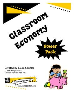 """FREE LESSON - """"FREE Classroom Money Pack""""- Go to The Best of Teacher Entrepreneurs for this and hundreds of free lessons. Classroom Money, Classroom Economy, Fun Classroom Activities, Kindergarten Activities, Teaching Math, Classroom Organization, Classroom Management, Behavior Management, Classroom Ideas"""