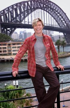 Singer David Bowie in Sydney, Australia in Picture: News Corp Images Of David Bowie, Iman And David Bowie, David Bowie Starman, Bowie Labyrinth, The Thin White Duke, Ziggy Stardust, Modern Love, Leather Jacket, Singer